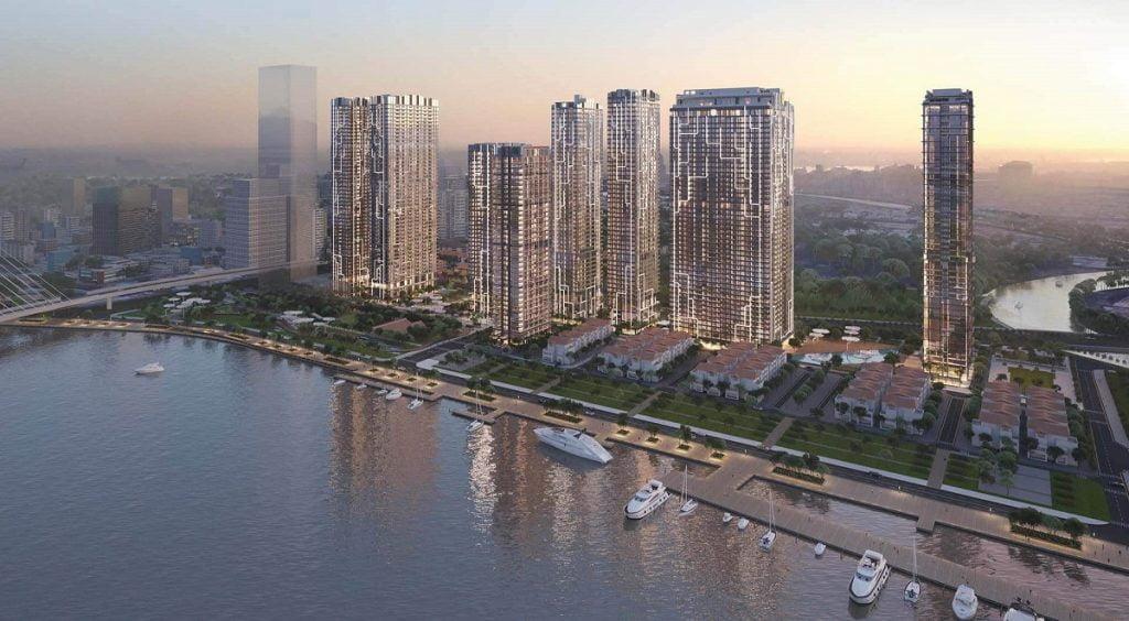 Phối cảnh dự án Grand Marina Quận 1