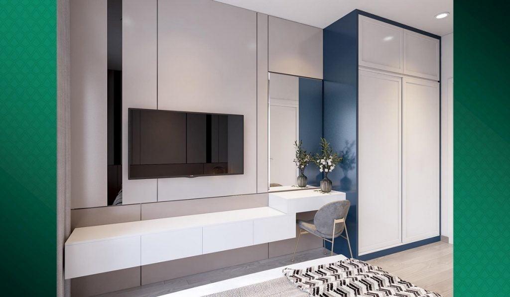 Ý tưởng về nội thất cho căn hộ 2PN