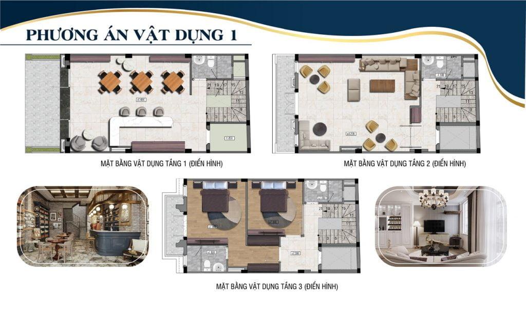Thiết kế nhà phố 52 Nguyễn Xiển