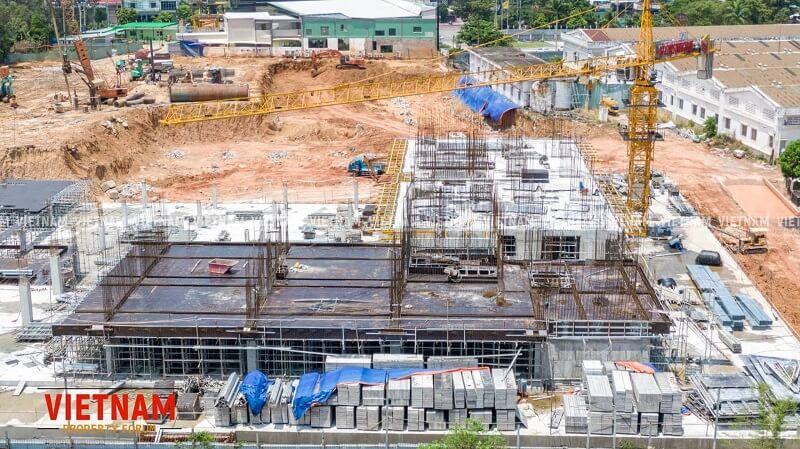 Tiến độ Lavita Thuận An tháng 4/2021