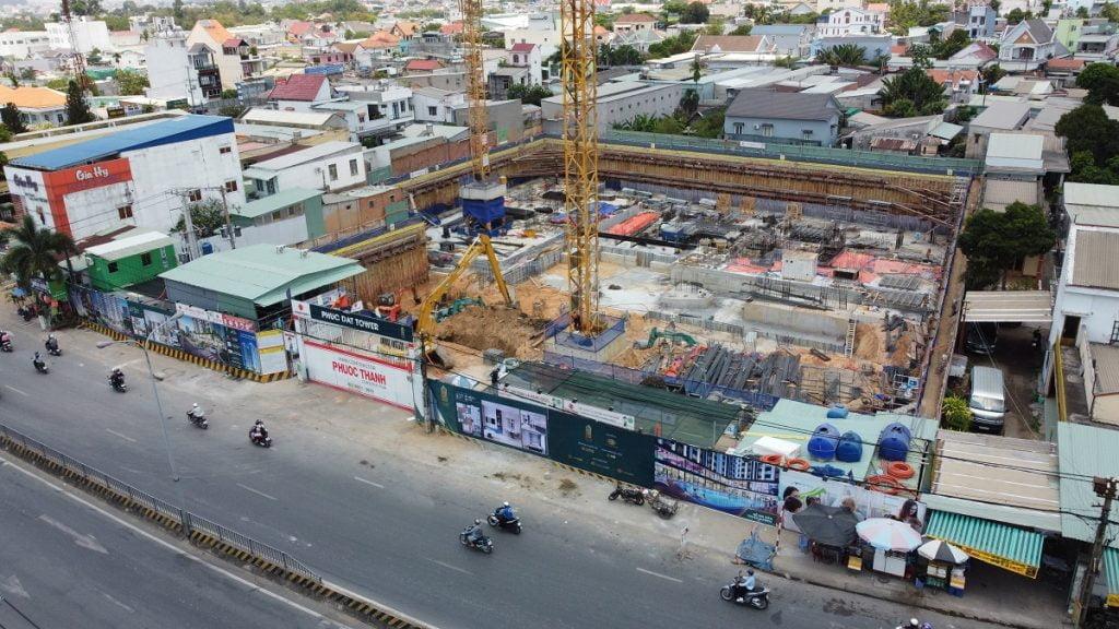 Tiến độ xây dựng mới nhất tháng 4/2021