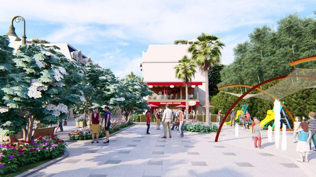 Các tiện ích cơ bản cũng sẽ có ngay bên trong dự án nhà phố 52 Nguyễn Xiển