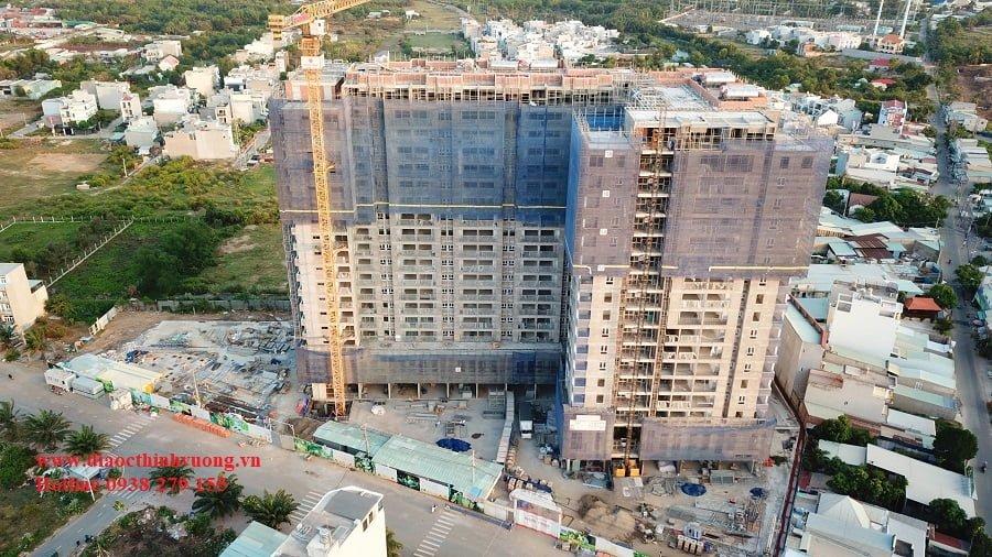 Tiến độ xây dựng căn hộ Ricca Quận 9 mới nhất tháng 4/2021