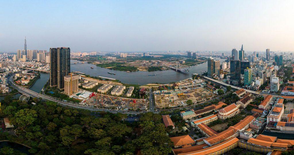 Toàn cảnh Grand Marina Saigon