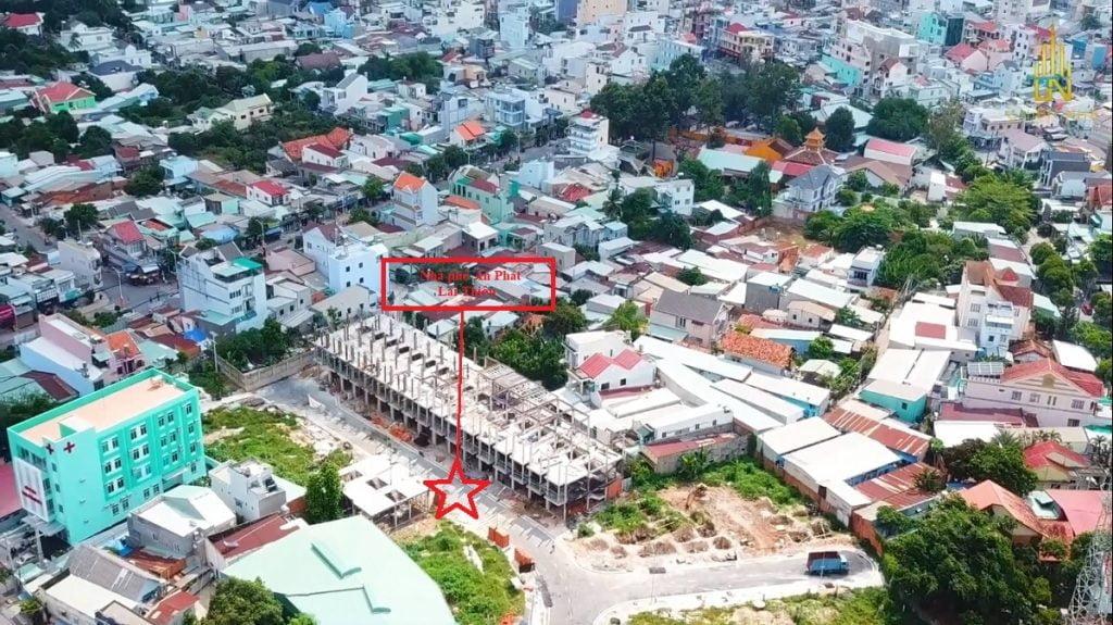 Dân cư hiện hữu đông đúc xung quanh nhà phố An Phát Lái Thiêu