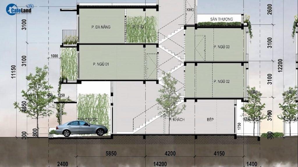 Thiết kế lệch tầng tạo nên sự khác biệt tại The Standard