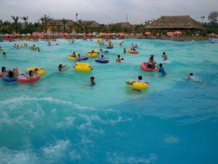 Biển nhân tạo tại Khu du lịch Đại Nam có quy mô lớn nhất Việt Nam