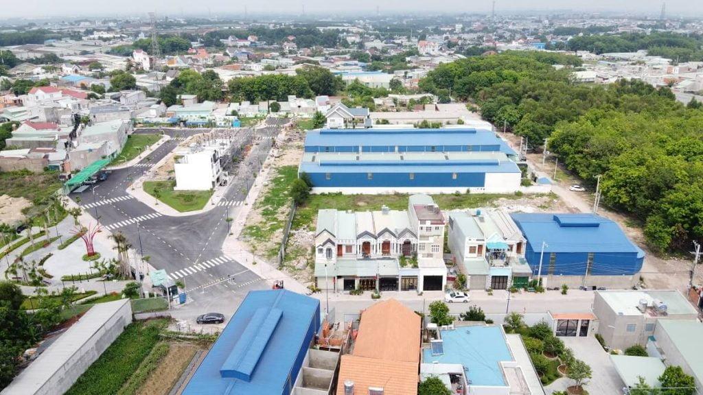 Hình ảnh thực tế công trình nhà phố Lavela Garden