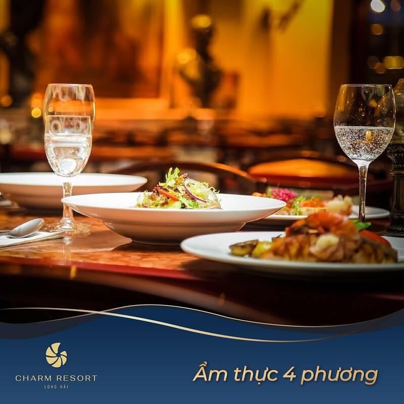 Ẩm thực bốn phương Charm Long Hải Resort