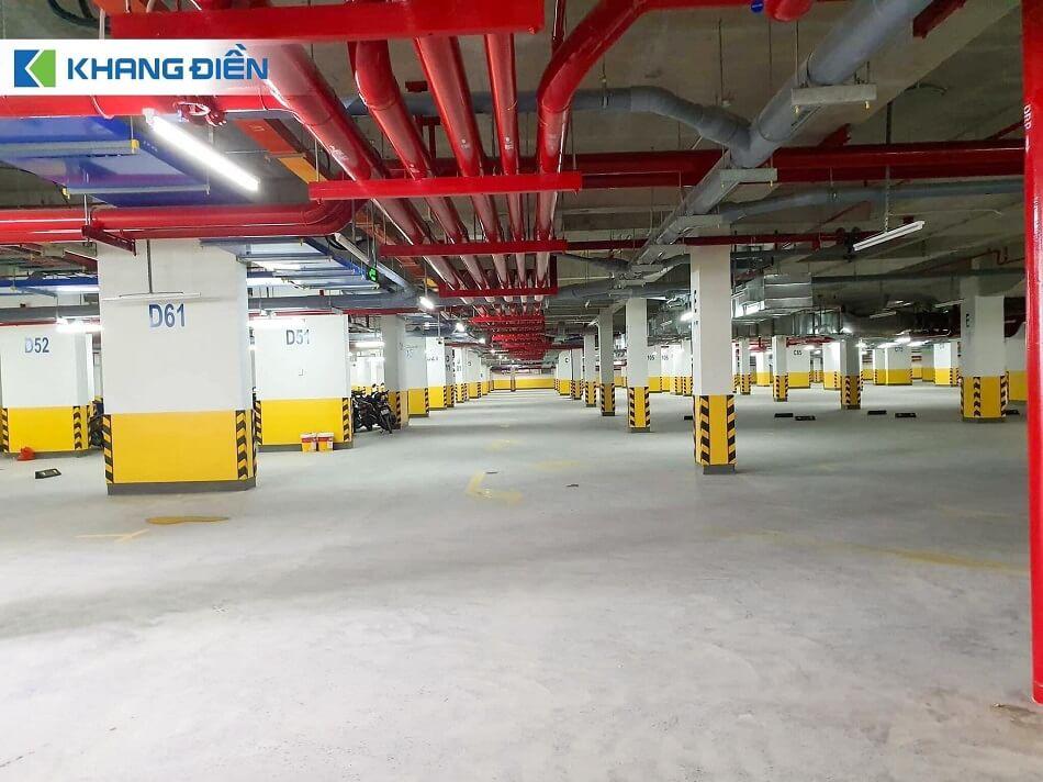 Hầm để xe Safira Khang Điền