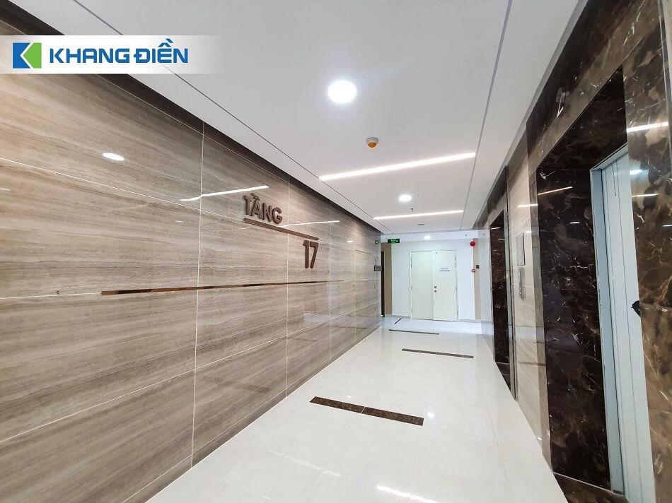 Hành lang căn hộ Safira Khang Điền