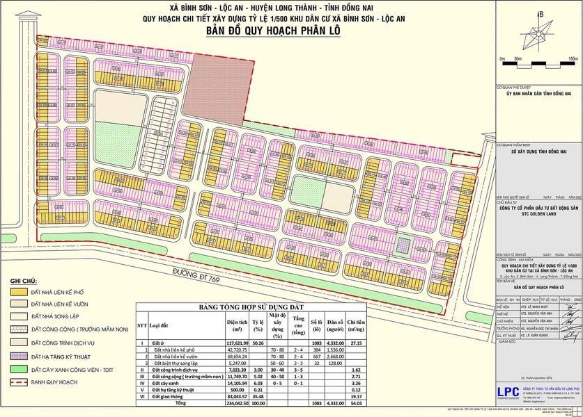 Bản đồ quy hoạch dự án Vega City Đồng Nai