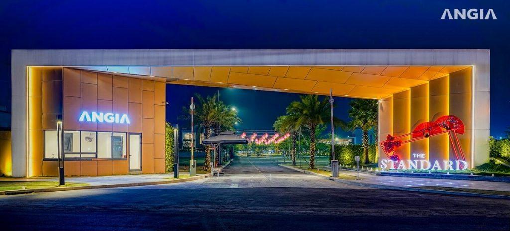 Cổng chào dự án nhà phố The Standard Bình Dương