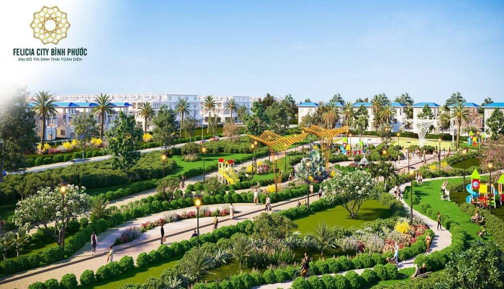 Công viên trung tâm Felicia City