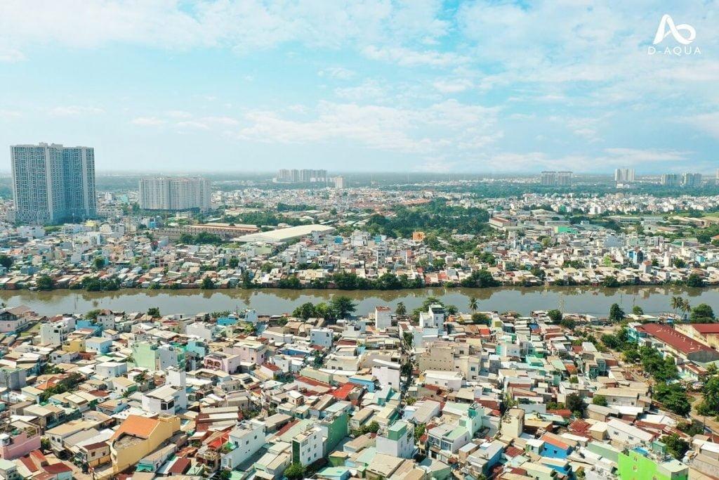 View huyện Bình Chánh D-Aqua