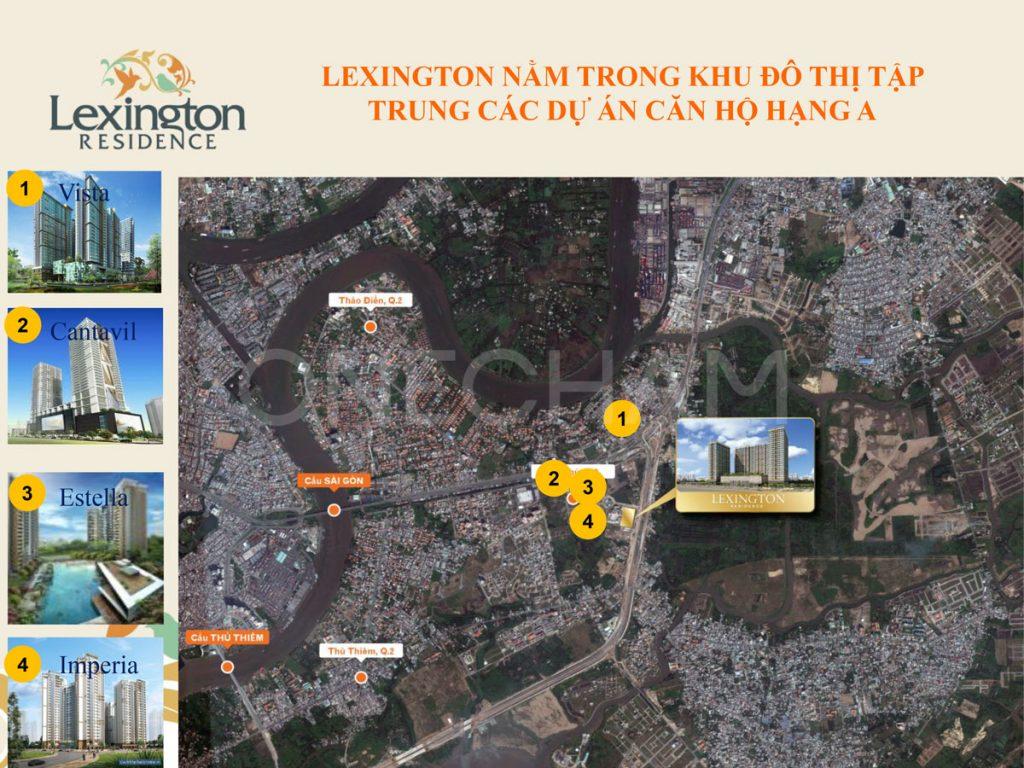 Các dự án lân cận Lexington Residence