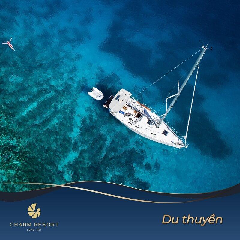Du thuyền Charm Long Hải Resort
