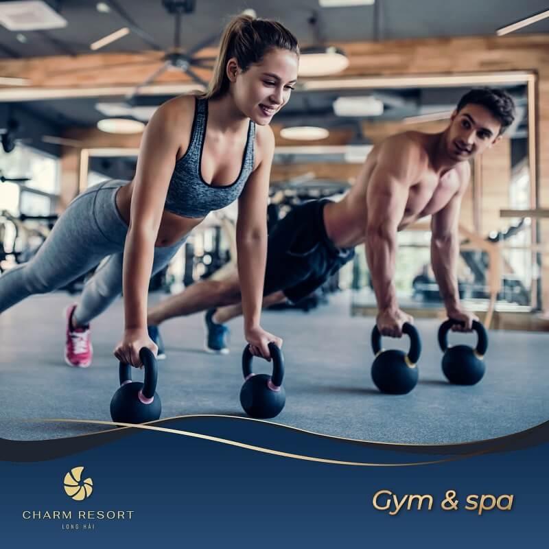 Gym và Spa Charm Long Hải Resort