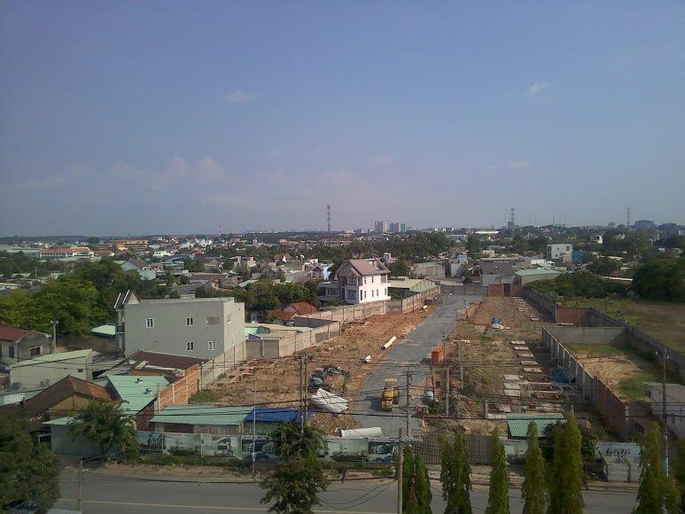 Hình ảnh thực tế dự án Honas Residence tháng 05/2021