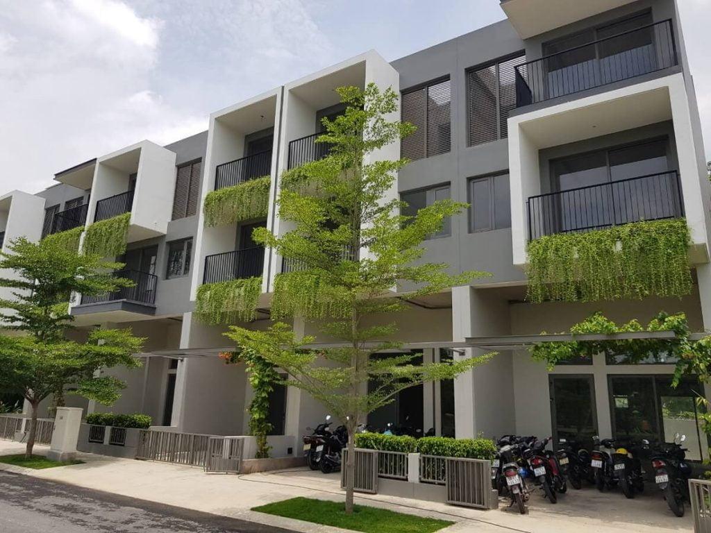 Dự án nhà phố The Standard An Gia sẽ bàn giao hoàn thiện bên ngoài