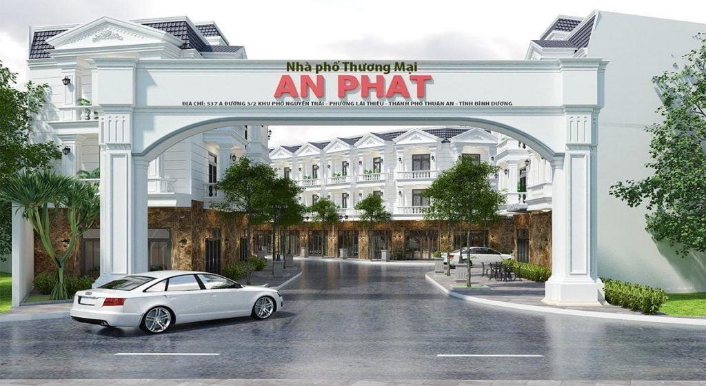 Dự án nhà phố An Phát Lái Thiêu