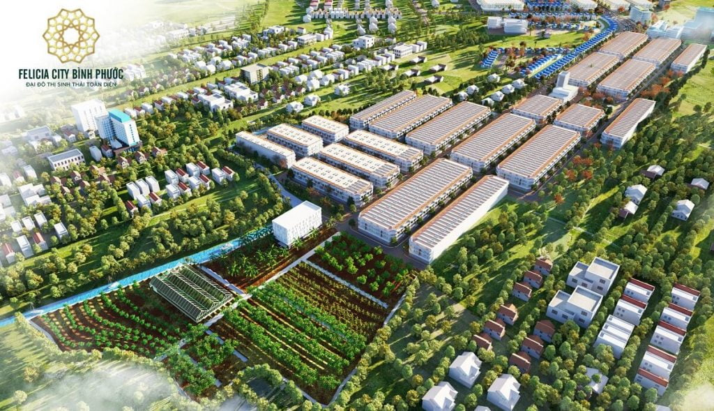 Khu nông nghiệp công nghệ cao Felicia City