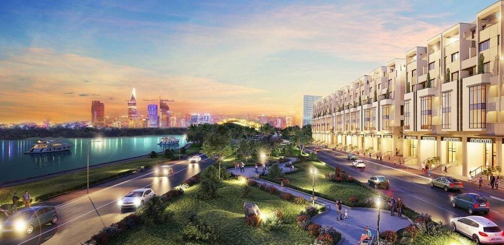 Khu thương mại ven sông Saigon Mystery Villas