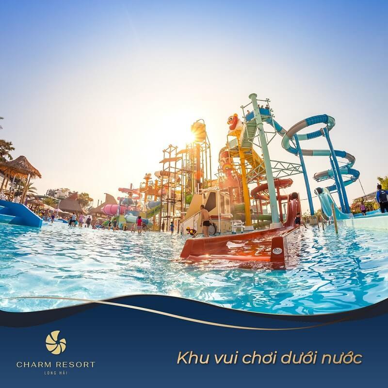 Khu vui chơi dưới nước Charm Long Hải Resort