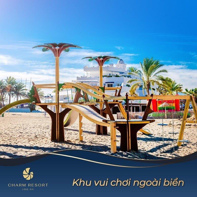 Khu vui chơi ngoài biển Charm Long Hải Resort