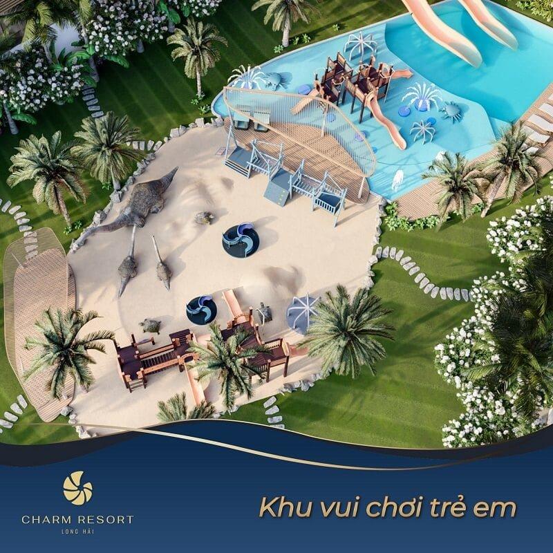 Khu vui chơi trẻ em Charm Long Hải Resort