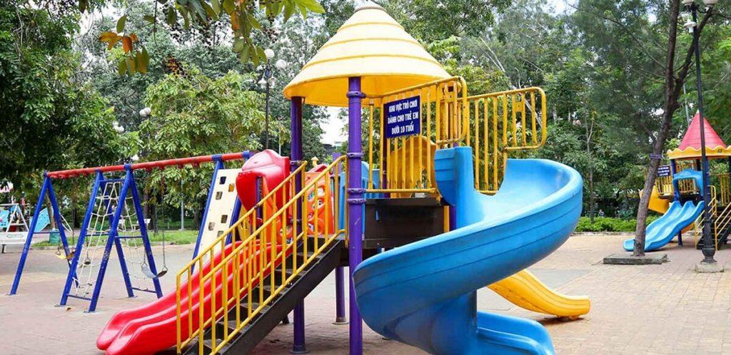 Khu vui chơi trẻ em Saigon Mystery Villas