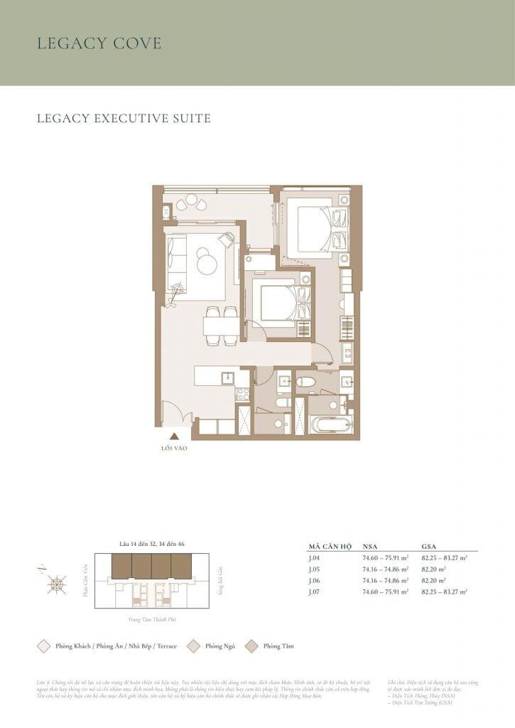 Legacy Executive Suite Cove