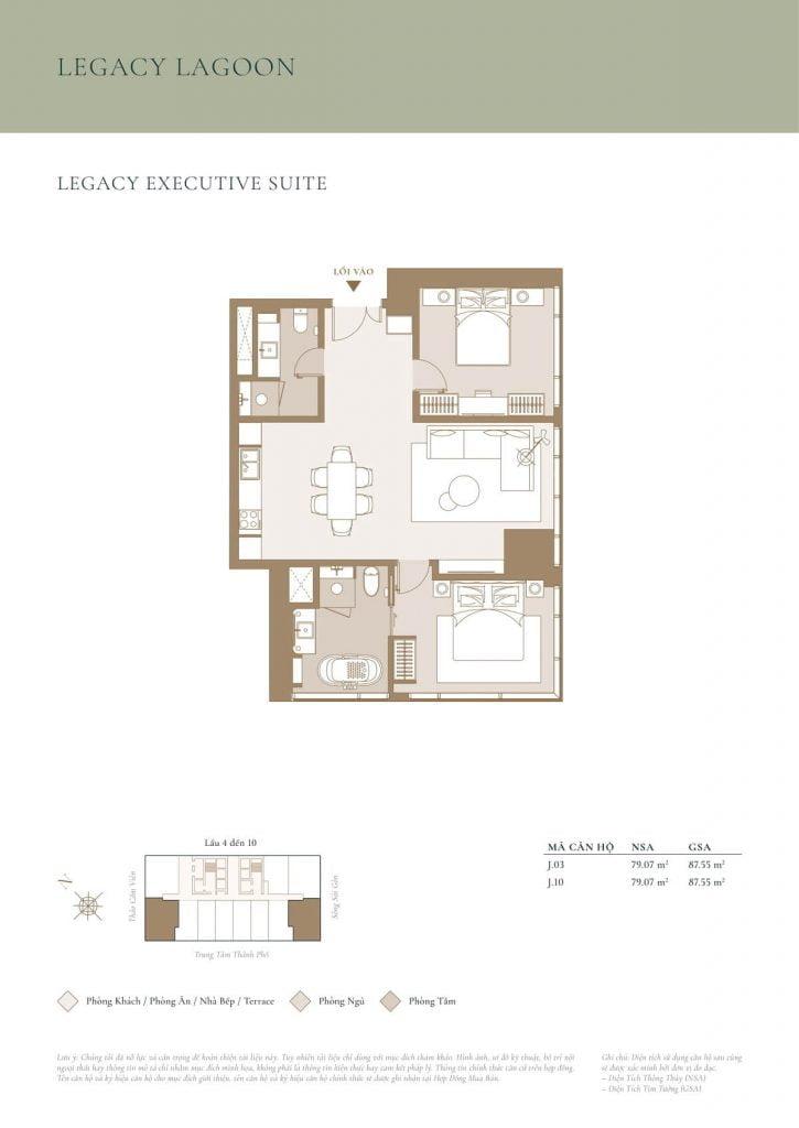 Legacy Executive Suite Lagoon