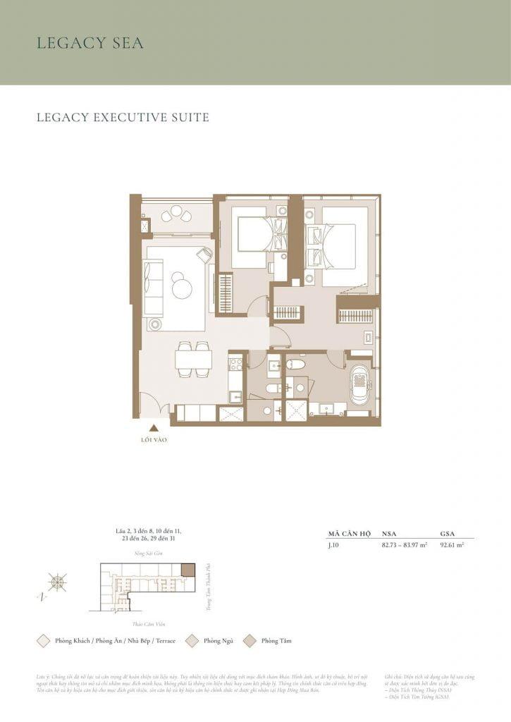 Legacy Executive Suite Sea