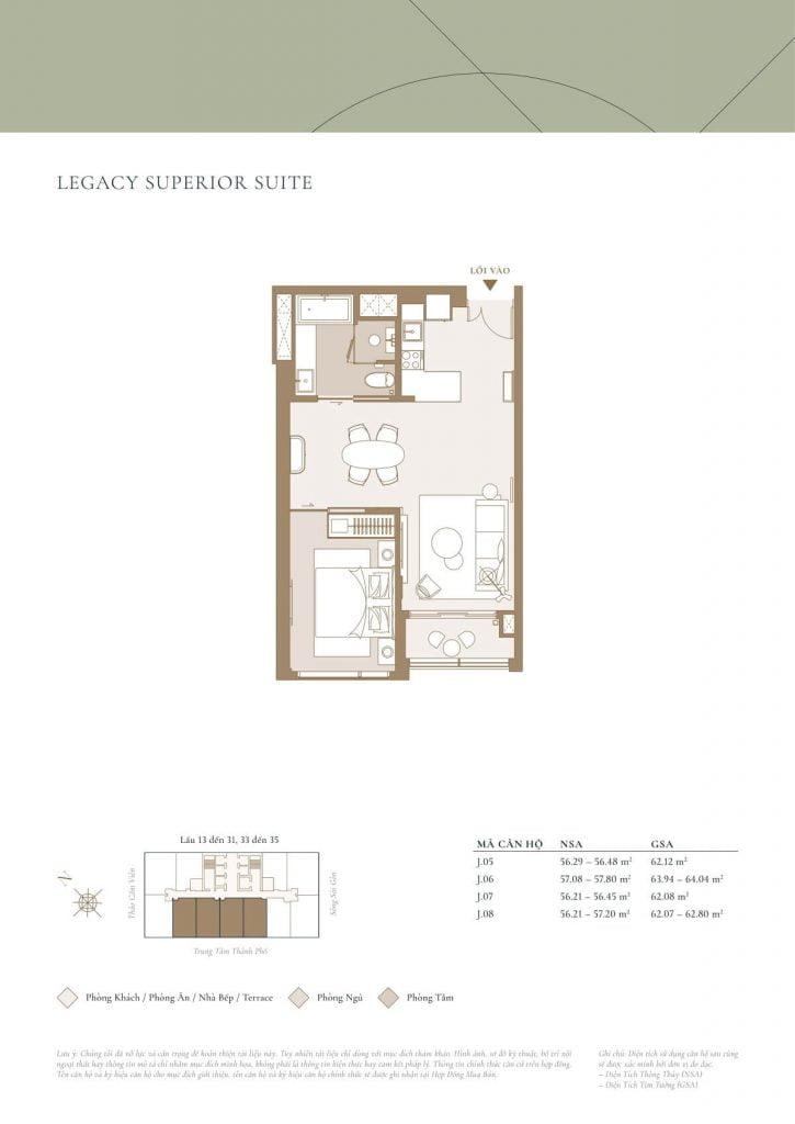 Legacy Superior Suite Lagoon