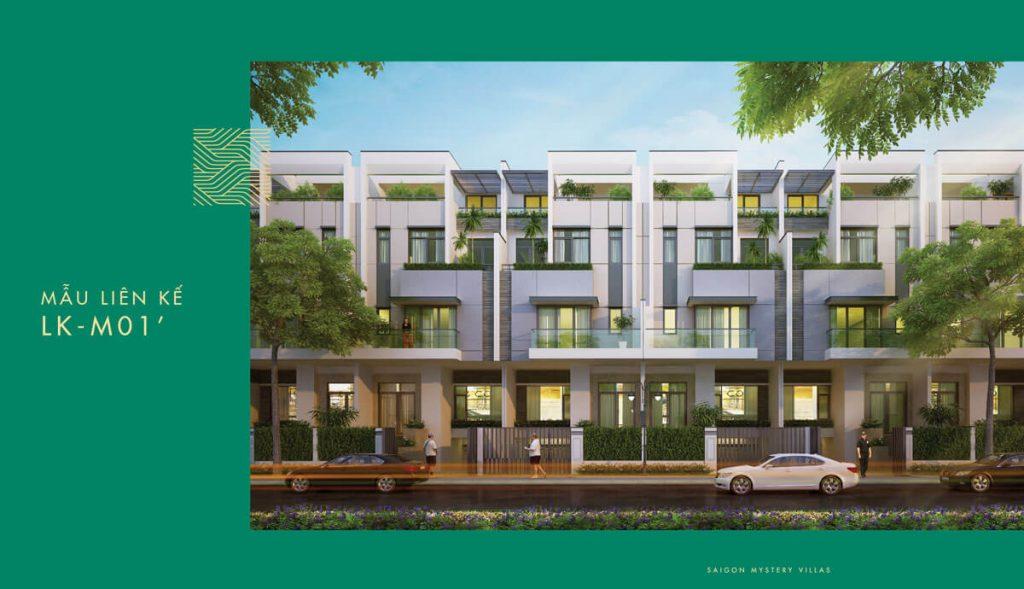 Mẫu liên kế LK-M01' Saigon Mystery Villas
