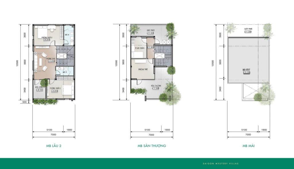 Thiết kế liên kế LK-M02 Saigon Mystery Villas