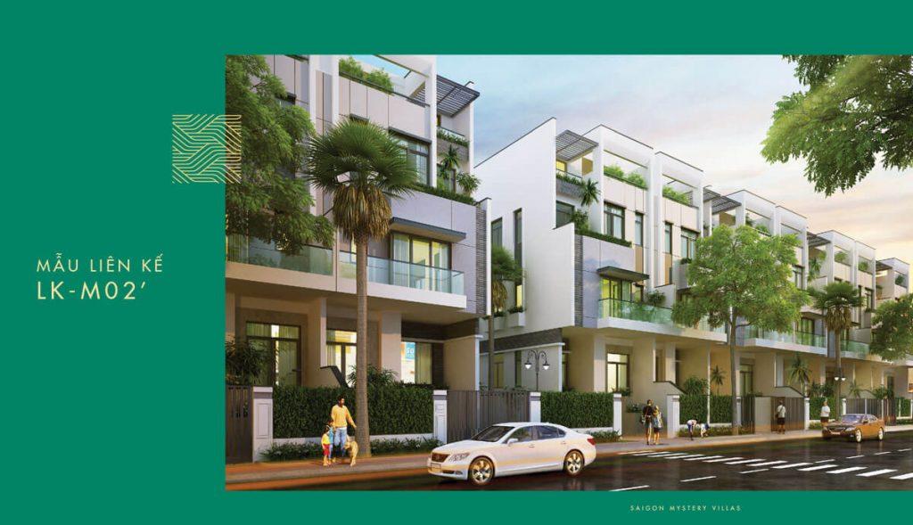 Mẫu liên kế LK-M02' Saigon Mystery Villas