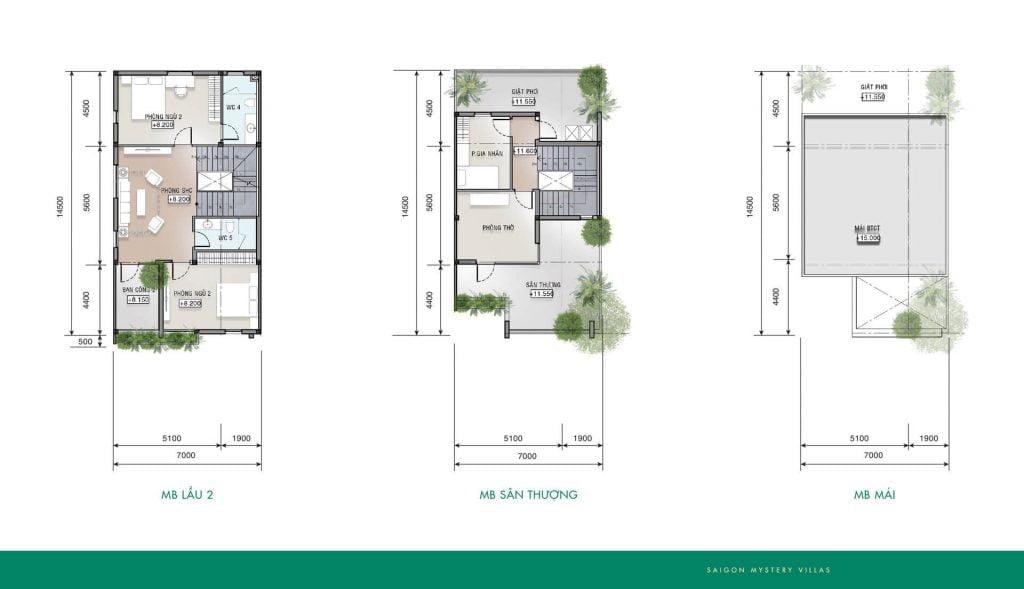 Thiết kế liên kế LK-M02' Saigon Mystery Villas