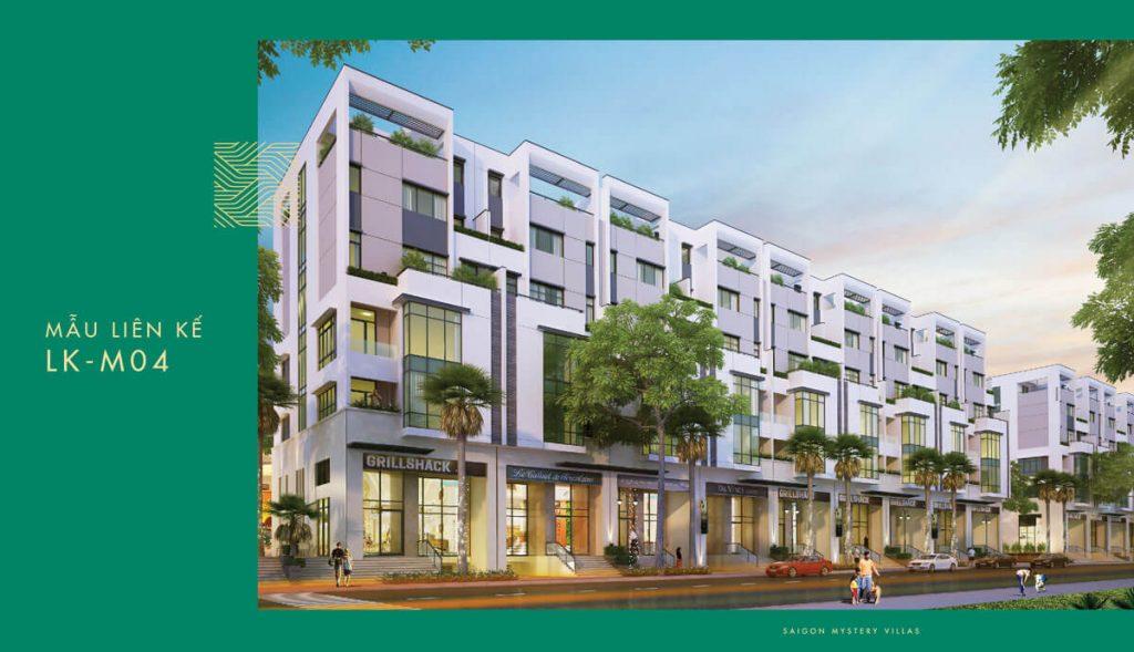 Mẫu liên kế LK-M04 Saigon Mystery Villas