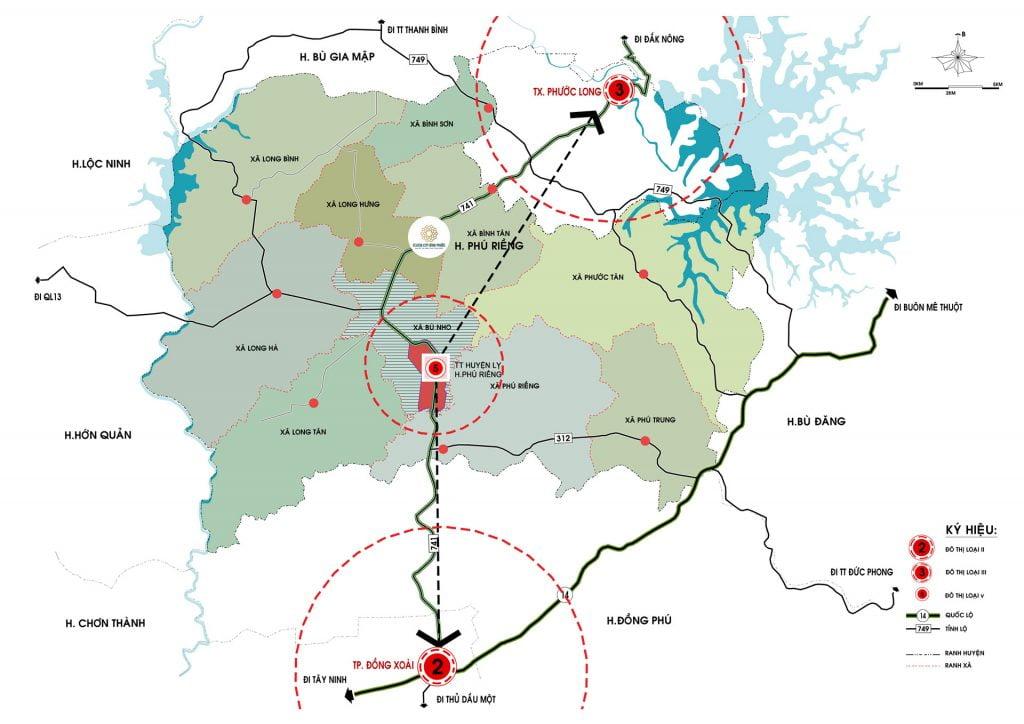 Liên kết vùng tại dự án Felicia City Phú Riềng