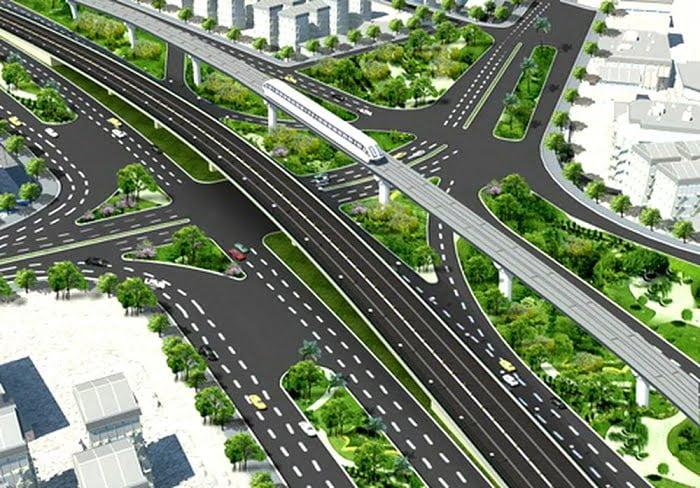 Phối cảnh minh họa nút giao thông An Phú Quận 2