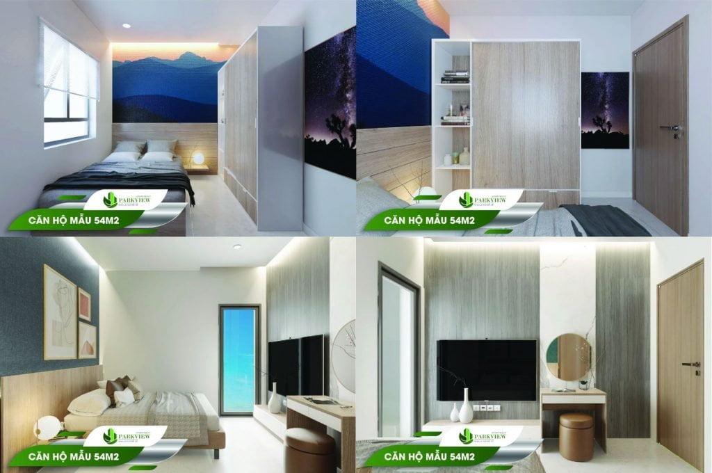Căn hộ mẫu 54m2 Parkview Apartment