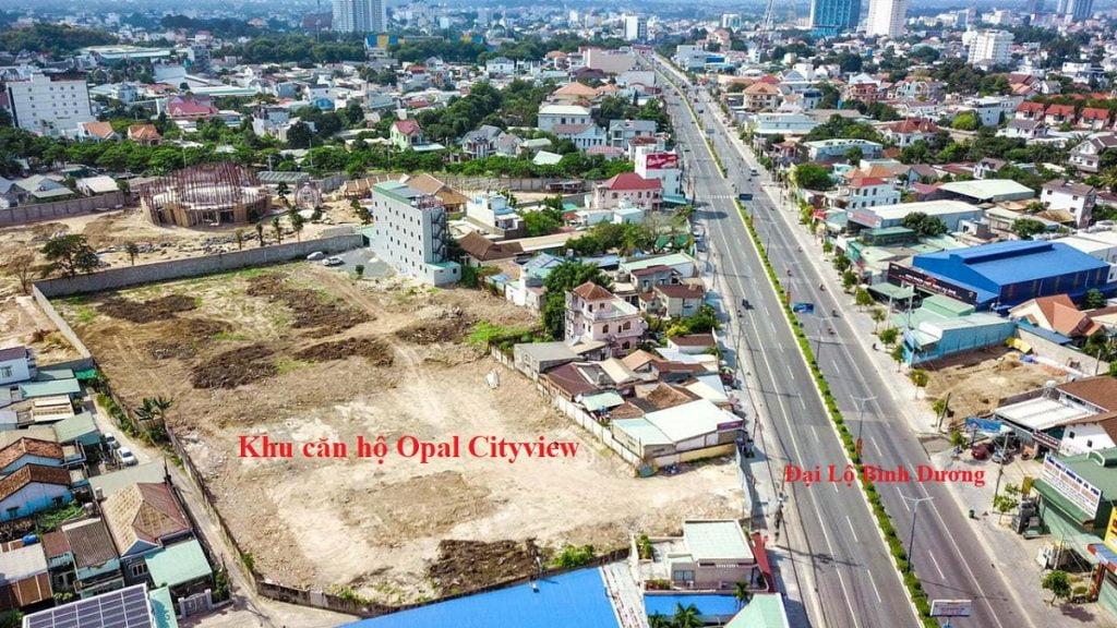 Vị trí đắc địa của Opal Cityview