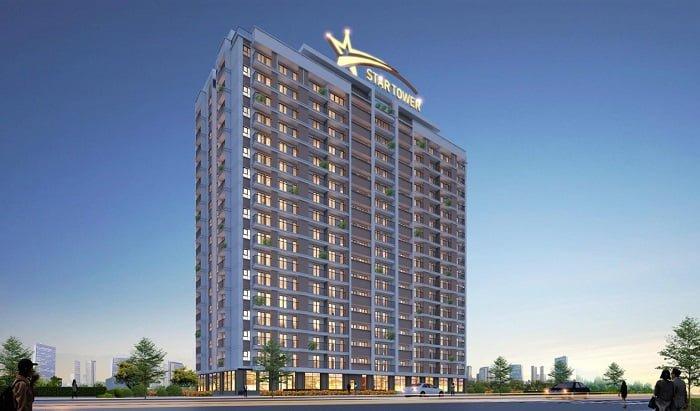 Phối cảnh dự án Star Tower Thuận An