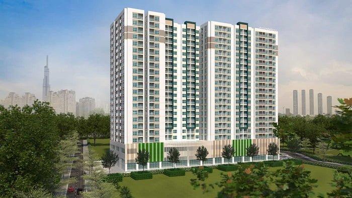 Phối cảnh dự án AnHome Thuận An