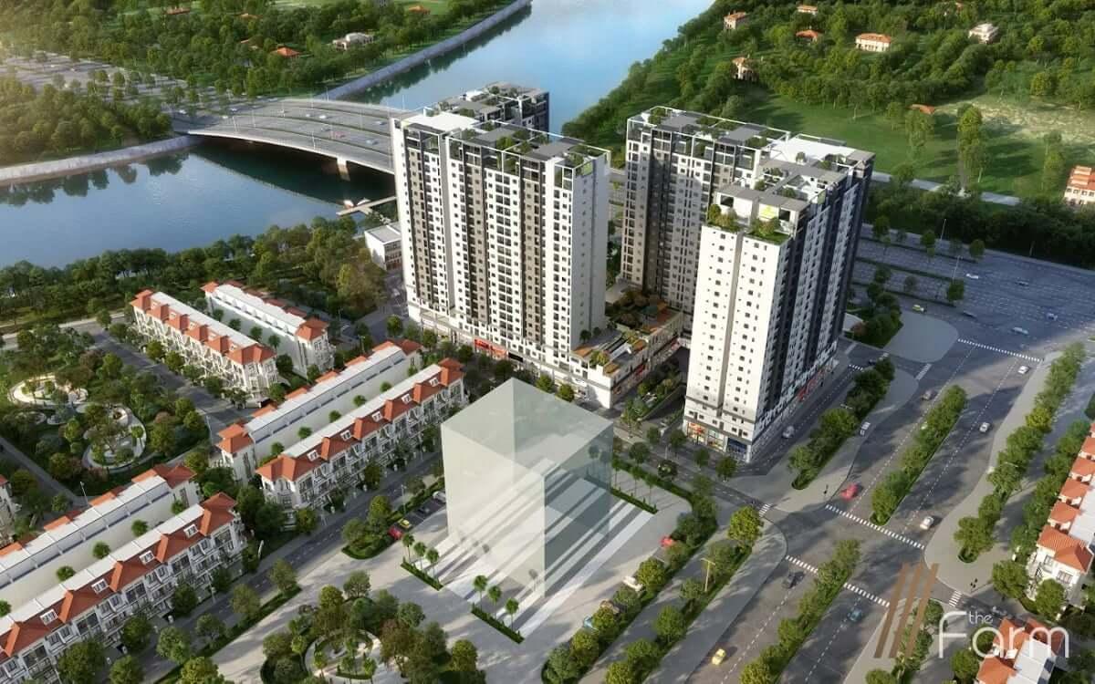 Tổng thể căn hộ Fresia Garden- Đông Tăng Long - Quận 9
