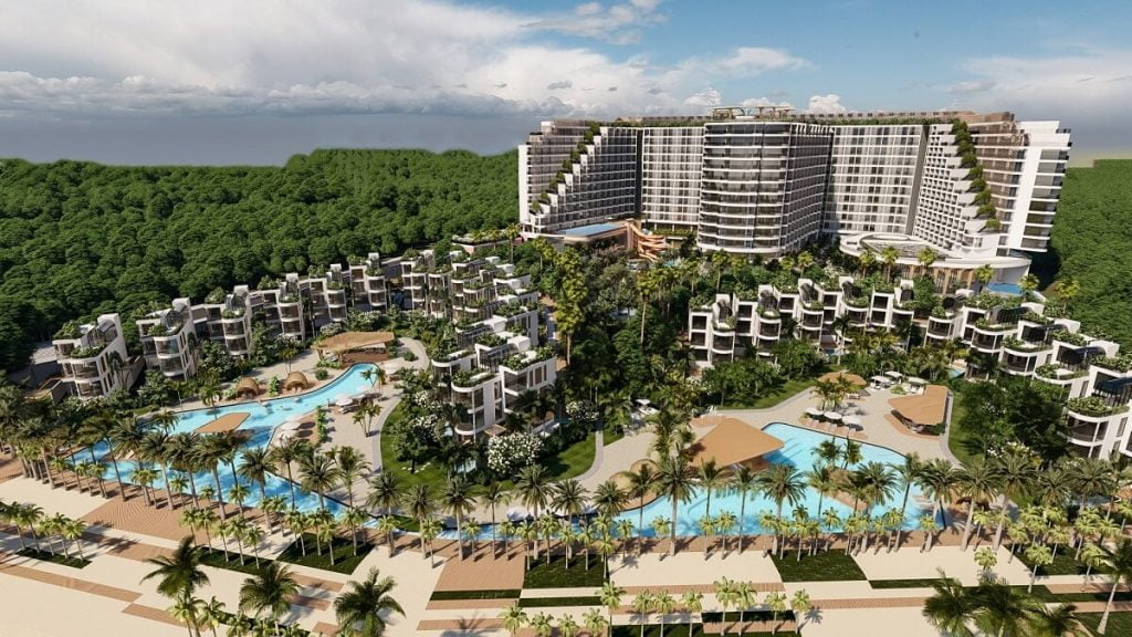 Phối cảnh dự án Charm Resort Long Hải