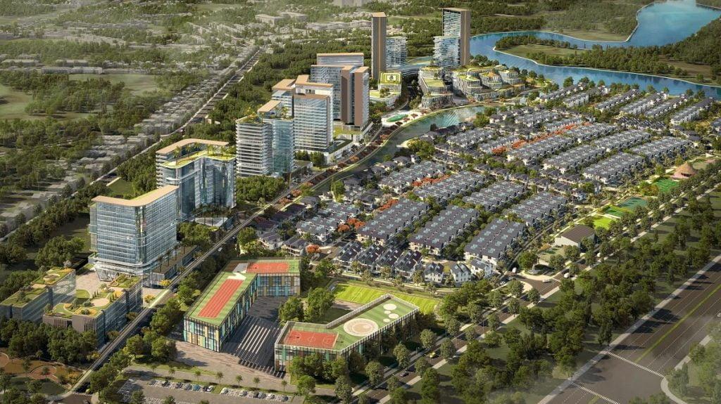 Tổng thể dự án khu đô thị ID Junction