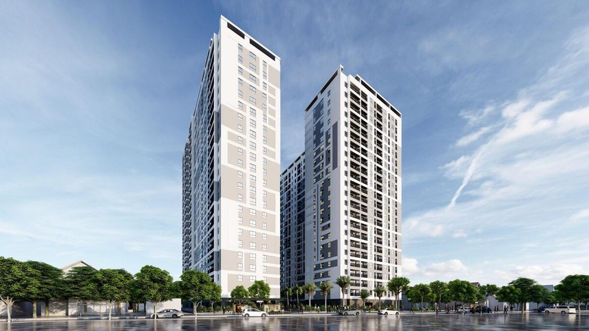 Phối cảnh dự án Parkview Apartment Thuận An